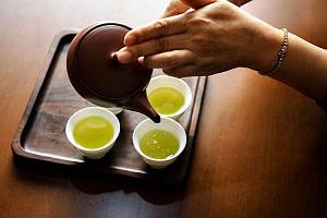 Él té verde ayuda a un corazón saludable