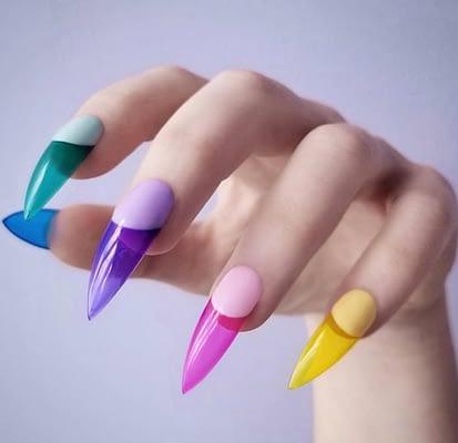 Uñas de plastico o gelatina
