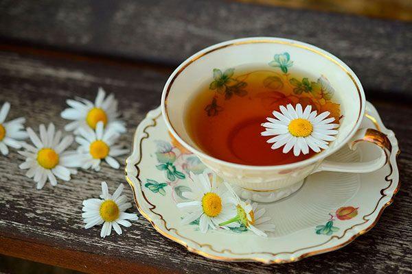 El te de manzanilla contiene aceites esenciale